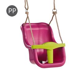 Leagan Baby Seat LUXE Culoare: purple (RAL4006)/lime green, image 1