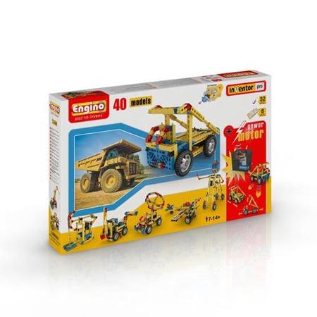 Set inginerie 40 modele cu motor Engino, image 12
