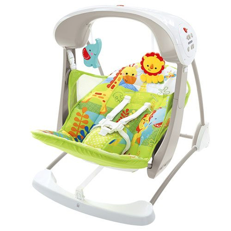 Leagan 2in1 Rainforest Friends Take Along Fisher Price, image 1