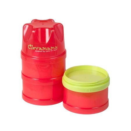 Set 3 recipiente stocare hrana pentru calatorie Clevamama, image 4