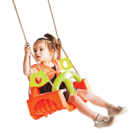 Leagan pentru copii Trix PP portocaliu-verde, image 2