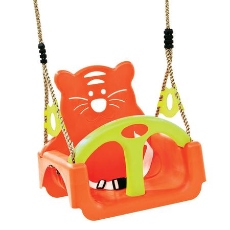 Leagan pentru copii Trix PP portocaliu-verde, image 1