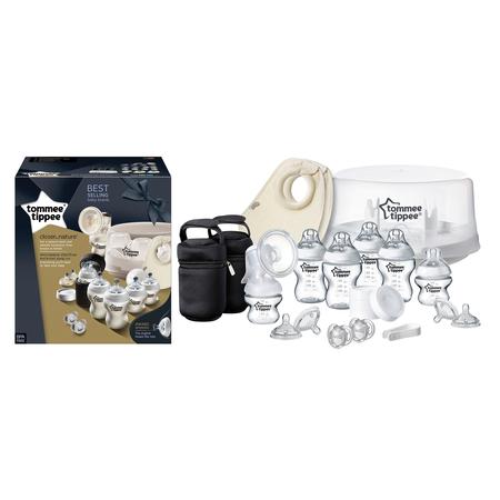 Set sterilizator pentru microunde si pompa de san manuala, Tommee Tippee, image 3