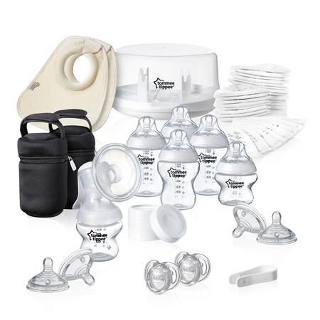 Set sterilizator pentru microunde si pompa de san manuala, Tommee Tippee, image 4