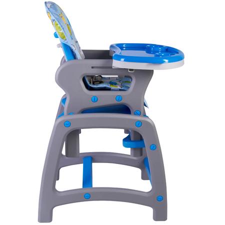 Scaun de masa multifunctional albastru Kidscare, image 2
