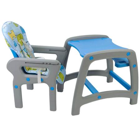 Scaun de masa multifunctional albastru Kidscare, image 3