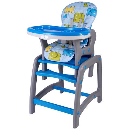 Scaun de masa multifunctional albastru Kidscare, image 1