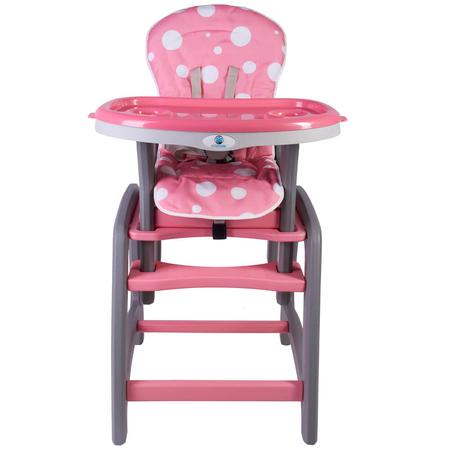 Scaun de masa multifunctional roz Kidscare, image 4