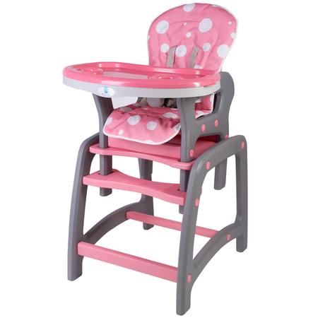 Scaun de masa multifunctional roz Kidscare, image 1