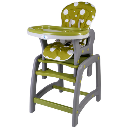 Scaun de masa multifunctional verde Kidscare, image 1
