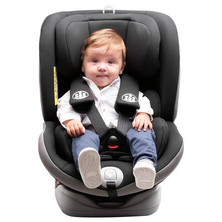 Scaun auto Allegra rotativ cu Isofix 0-36kg negru KidsCare, image 10