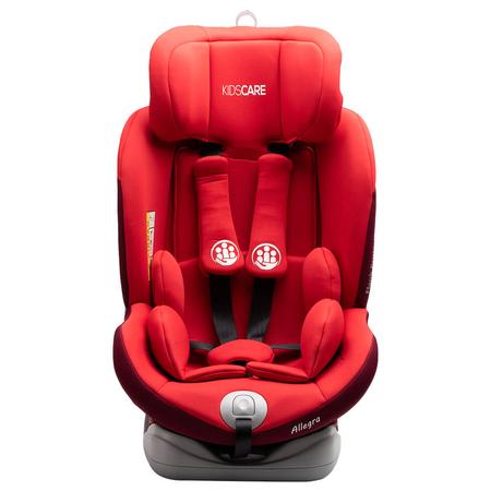 Scaun auto Allegra rotativ cu Isofix 0-36kg rosu KidsCare, image 3