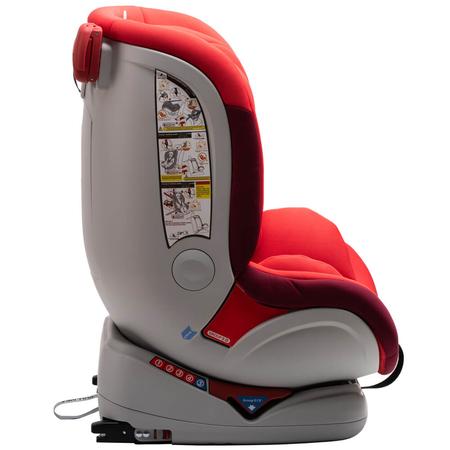 Scaun auto Allegra rotativ cu Isofix 0-36kg rosu KidsCare, image 7