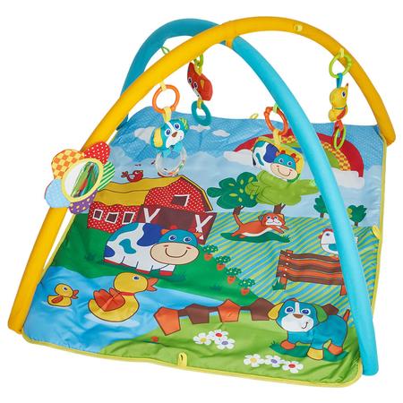 Salteluta de joaca patrata ferma vesela Kidscare, image 3