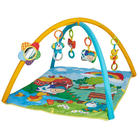Salteluta de joaca patrata ferma vesela Kidscare, image 1