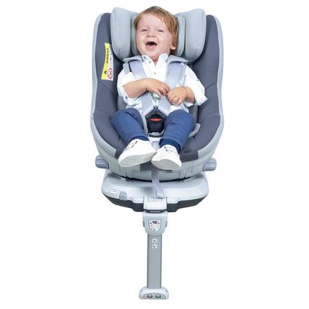 Scaun auto Rear Facing rotativ Tiago 0-18 kg gri KidsCare, image 6