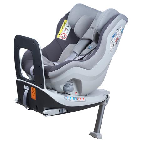 Scaun auto Rear Facing rotativ Tiago 0-18 kg gri KidsCare, image 1