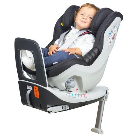 Scaun auto Rear Facing rotativ Tiago 0-18 kg negru KidsCare, image 9