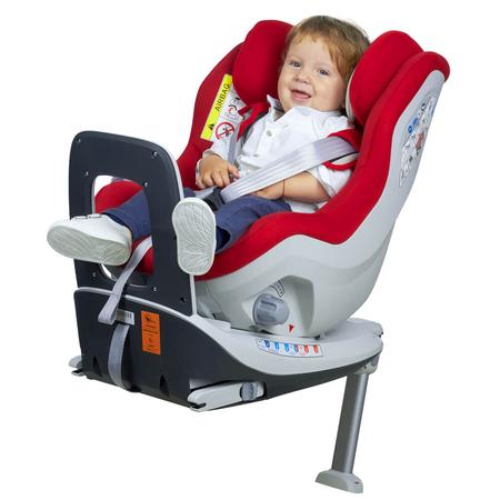 Scaun auto Rear Facing rotativ Tiago 0-18 kg rosu KidsCare, image 7