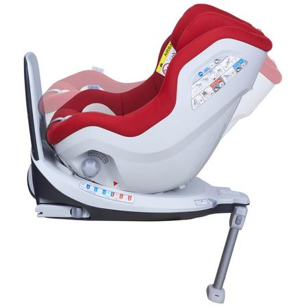Scaun auto Rear Facing rotativ Tiago 0-18 kg rosu KidsCare, image 8