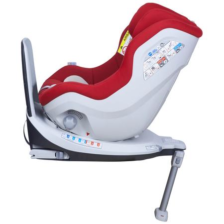 Scaun auto Rear Facing rotativ Tiago 0-18 kg rosu KidsCare, image 9