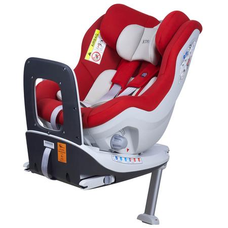 Scaun auto Rear Facing rotativ Tiago 0-18 kg rosu KidsCare, image 1