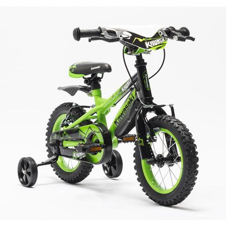 Bicicleta copii Kawasaki KRUNCH 12 green by Merida Italy, image 1