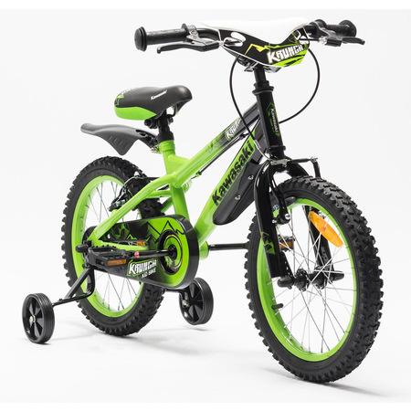 Bicicleta copii Kawasaki KRUNCH 16 green by Merida Italy, image 1