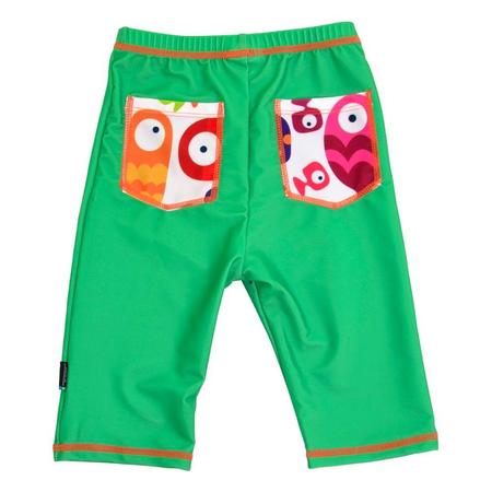 Pantaloni de baie Funny Fish marime 98- 104 protectie UV Swimpy, image 2