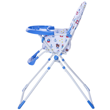 Scaunul de masa Bimba Kidscare, Albastru, image 3