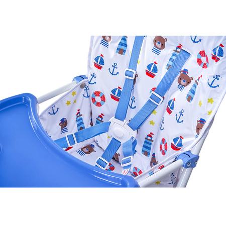 Scaunul de masa Bimba Kidscare, Albastru, image 5
