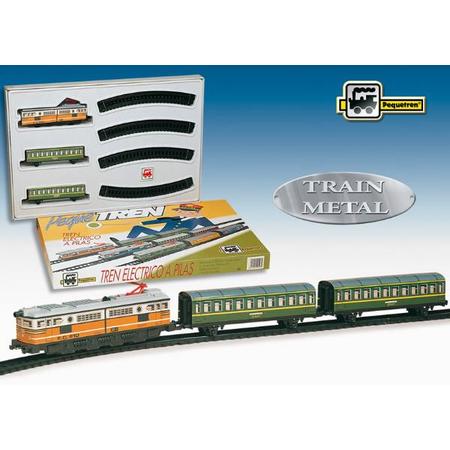 Trenulet electric calatori (clasic) Pequetren, image 1