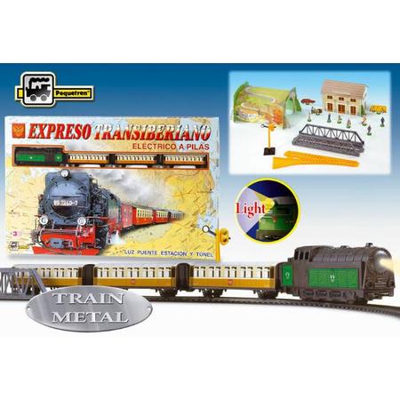 Trenulet electric calatori Expresul Transiberian Pequetren, image 1