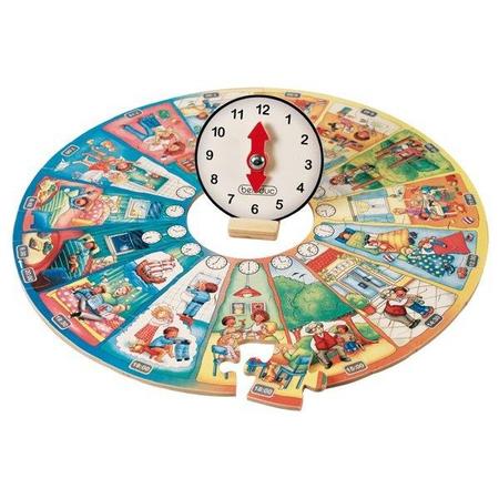 Puzzle circular Invata ceasul Beleduc, image 3