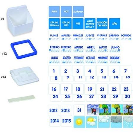 Display vizual Calendarul zilnic si vremea Miniland, image 3