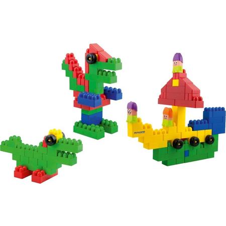 Blocks Super Scoala 96 piese - Miniland, image 1