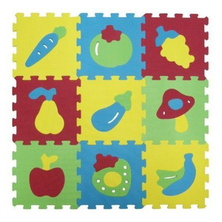 Covoras din spuma Fructe Ludi, image 1